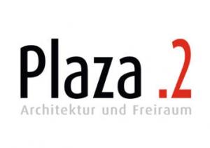 Plaza 2. Architektur Logo Groß